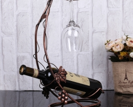 Кованые винницы, подставки под вино №29