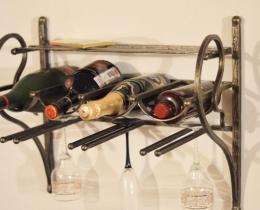 Кованые винницы, подставки под вино №68