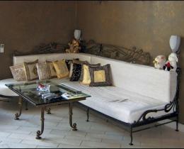 Кованые диваны в Воронеже №12