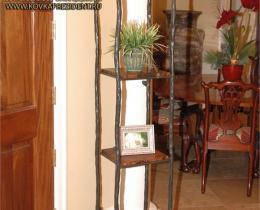 Кованые этажерки, стеллажи, консоли №101