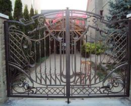Кованые ворота в Воронеже №124