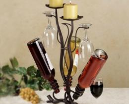 Кованые винницы, подставки под вино №32