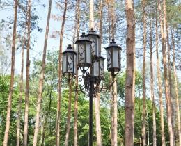 Кованые фонари в Воронеже №108
