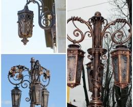 Кованые фонари в Воронеже №110