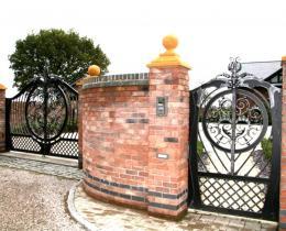 Кованые ворота в Воронеже №80