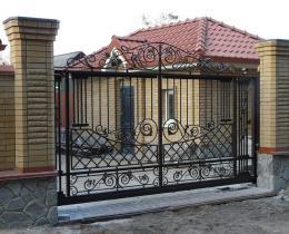 Кованые ворота в Воронеже №44