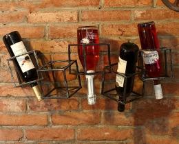 Кованые винницы, подставки под вино №34