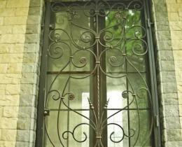 Кованые оконные решетки в Воронеже №17