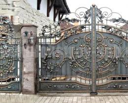 Кованые ворота в Воронеже №46