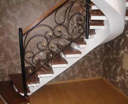 Кованые лестницы в Воронеже №6