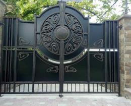 Кованые ворота в Воронеже №147