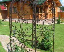 Кованые арки в Воронеже №30