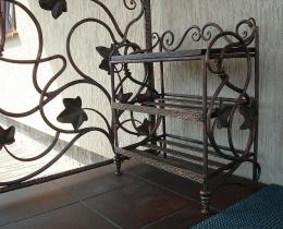 Кованые этажерки, стеллажи, консоли №154