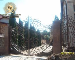 Кованые ворота в Воронеже №82