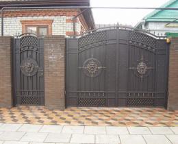 Кованые ворота в Воронеже №83