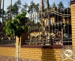 Кованые заборы в Воронеже №1