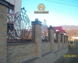 Кованые заборы в Воронеже №99