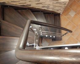 Деревянные лестницы №5