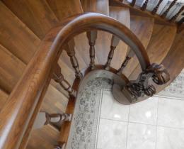 Деревянные лестницы №6