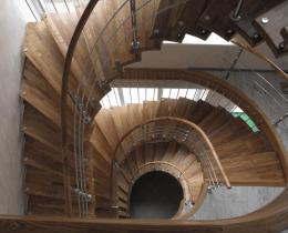 Деревянные лестницы №10