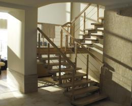 Деревянные лестницы №13