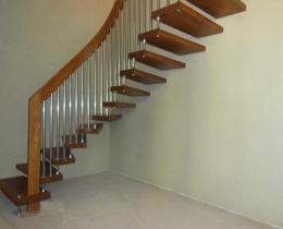 Деревянные лестницы №14