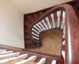 Деревянные лестницы №16