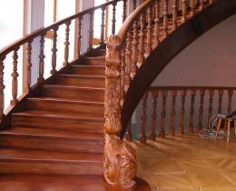 Деревянные лестницы №17