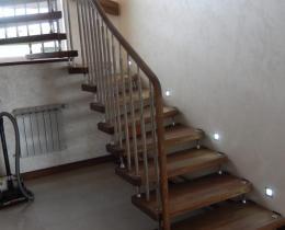 Деревянные лестницы №18