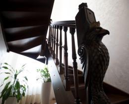 Деревянные лестницы №19