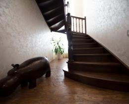 Деревянные лестницы №21