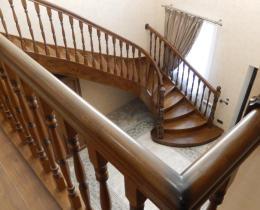 Деревянные лестницы №22