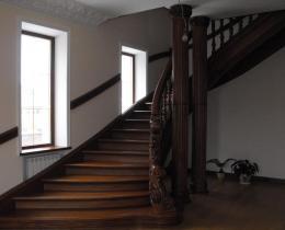 Деревянные лестницы №23