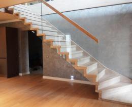 Деревянные лестницы №24