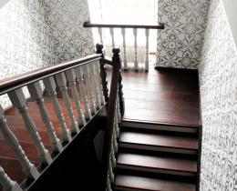Деревянные лестницы №26