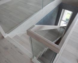 Деревянные лестницы №27