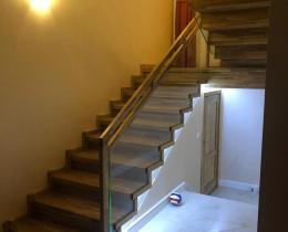 Деревянные лестницы №28