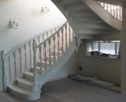 Деревянные лестницы №29