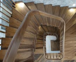 Деревянные лестницы №30