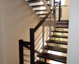Деревянные лестницы №31