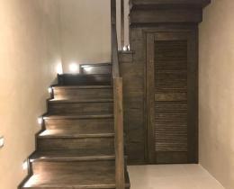 Деревянные лестницы №32