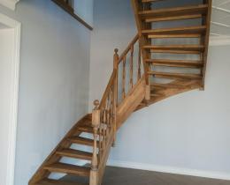 Деревянные лестницы №33