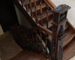 Деревянные лестницы №34