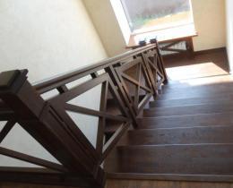 Деревянные лестницы №35