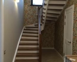 Деревянные лестницы №37