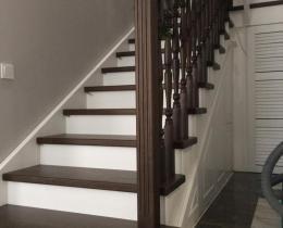 Деревянные лестницы №43