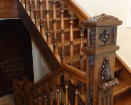 Деревянные лестницы №45