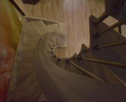 Деревянные лестницы №46