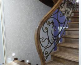Деревянные лестницы №48