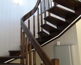 Деревянные лестницы №49